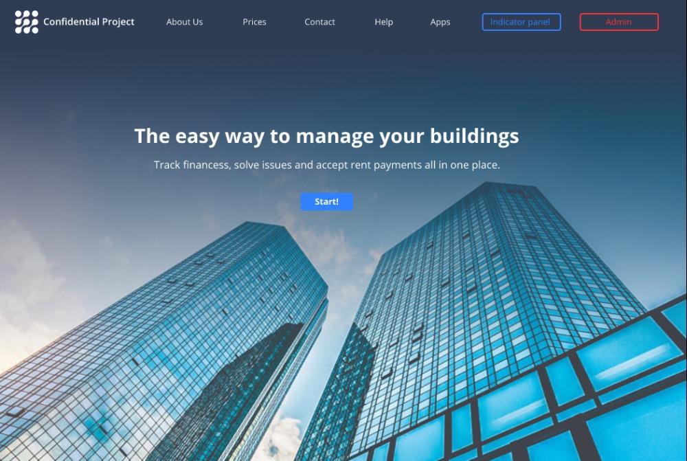 Real Estate Management Platforme